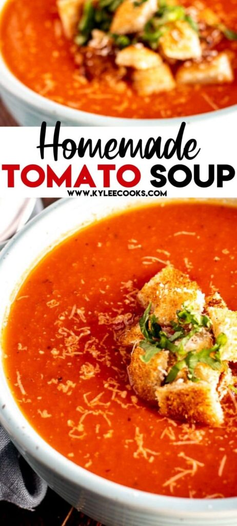 tomato soup pin with text overlay