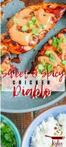 chicken diablo with text overlay