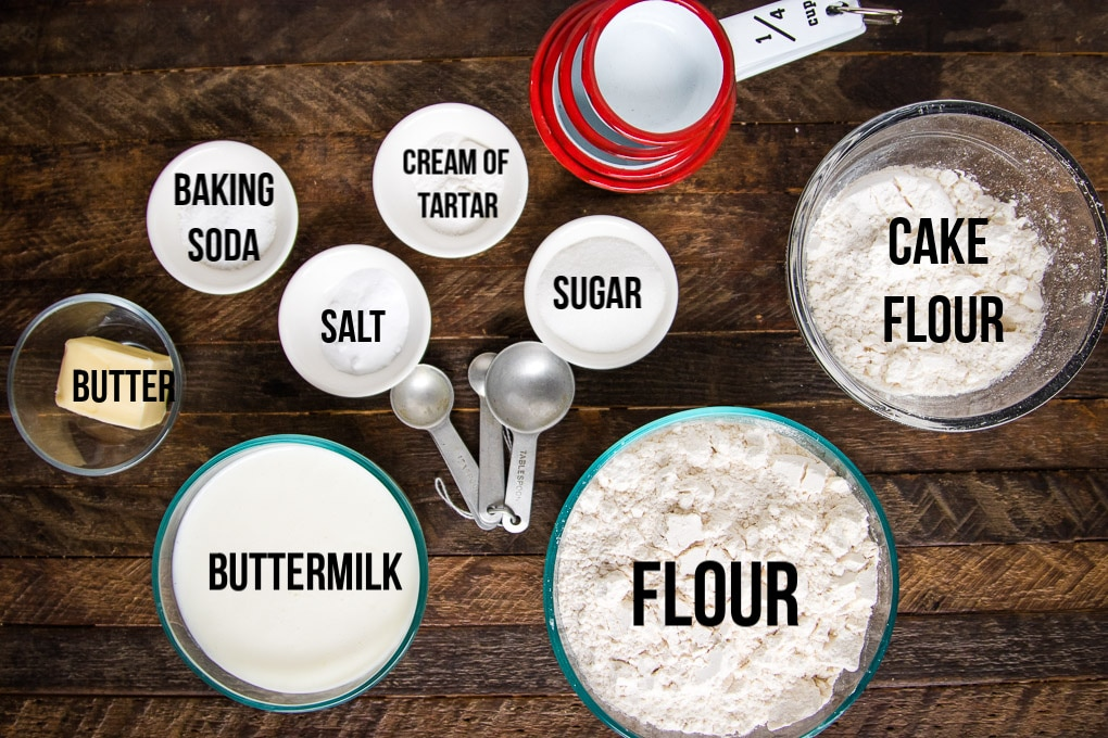 ingredients in irish soda bread