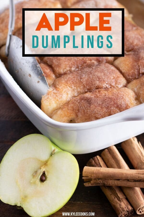apple dumplings graphic