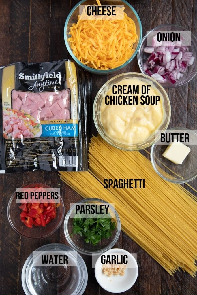 ham tetrazzini ingredients