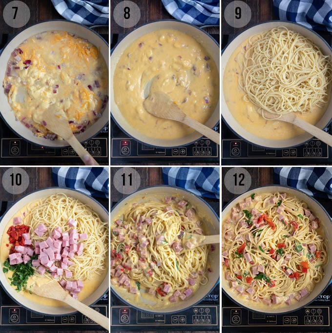 how to make ham tetrazzini