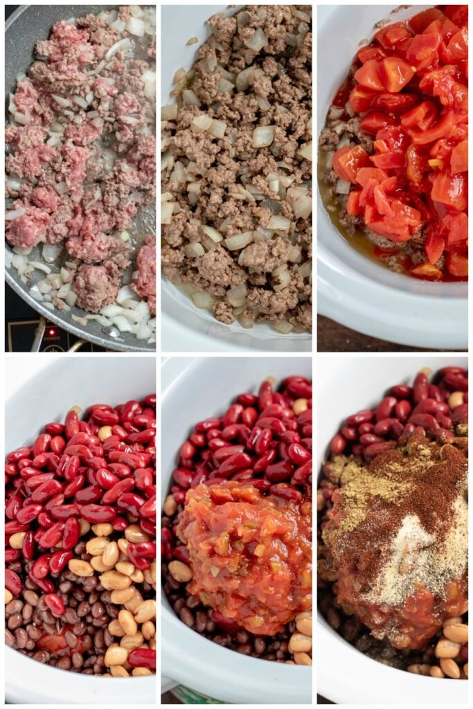 How to make chili in a crockpot