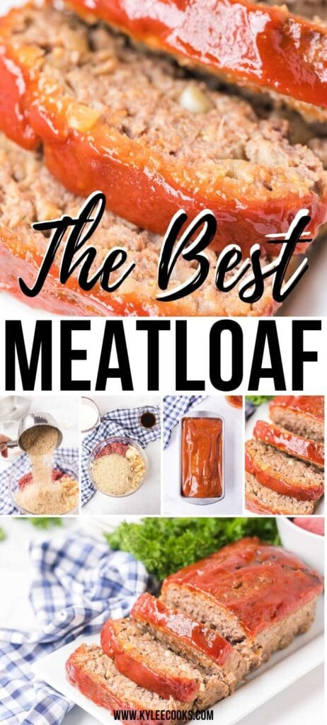 meatloaf pin with text overlay