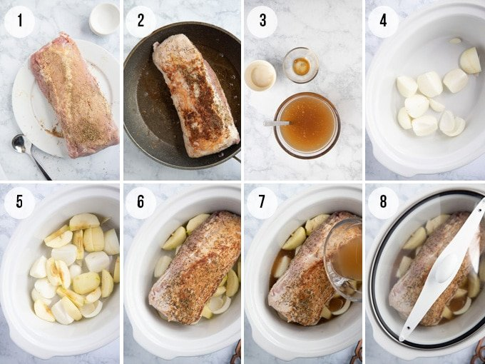 how to cook a pork loin in the crockpot