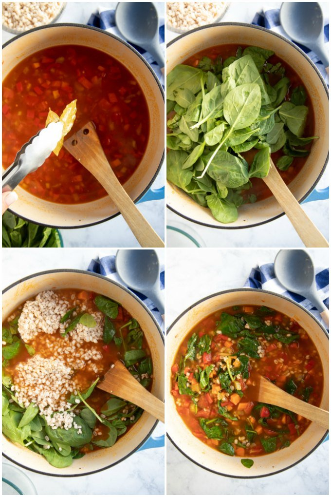 how to make vegetable barley soup