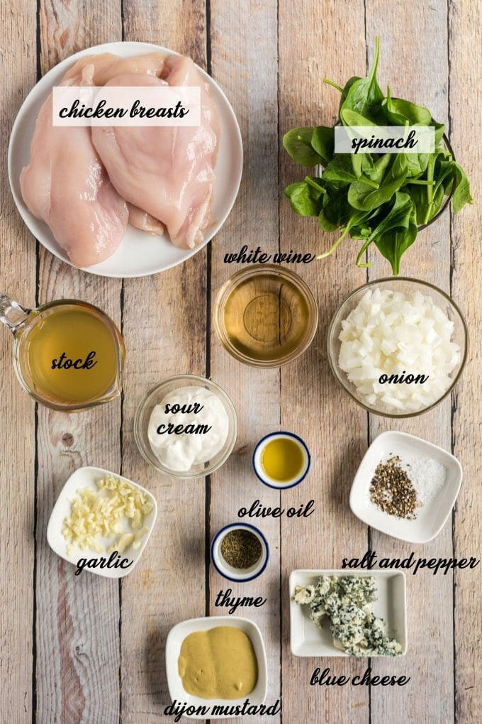 ingredients for chicken florentine