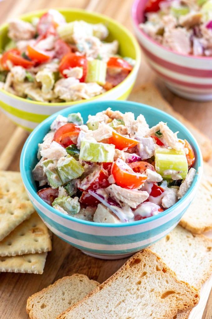 The Best Tuna Salad Ever Not Your Mama S Tuna Salad Kylee Cooks
