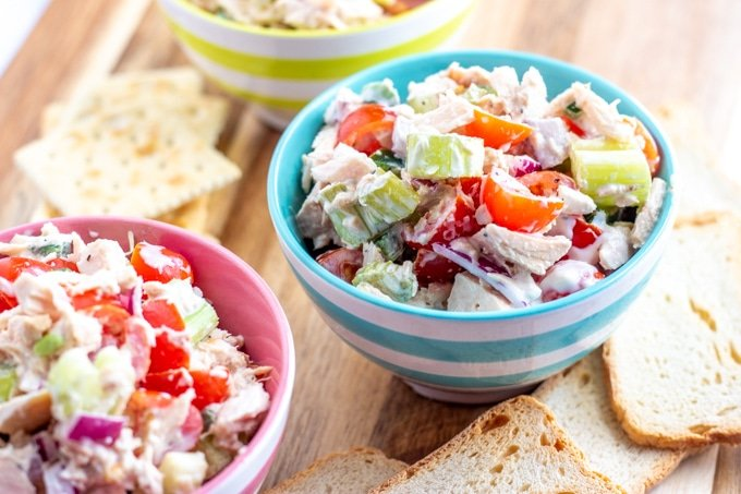 The Best Tuna Salad Ever! (Not your Mama's Tuna Salad)