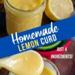 lemon curd pin with text overlay