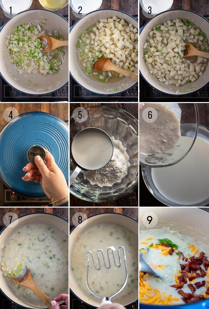 how to make baked potato soup
