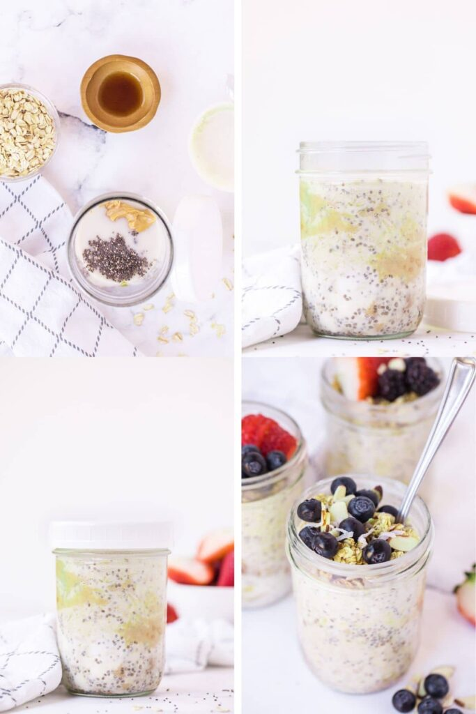 Overnight Oats Recipe - STEP BY STEP