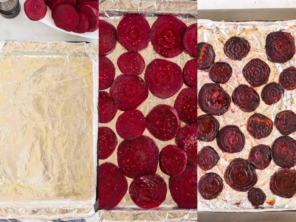 roasting the beets step by step pictures