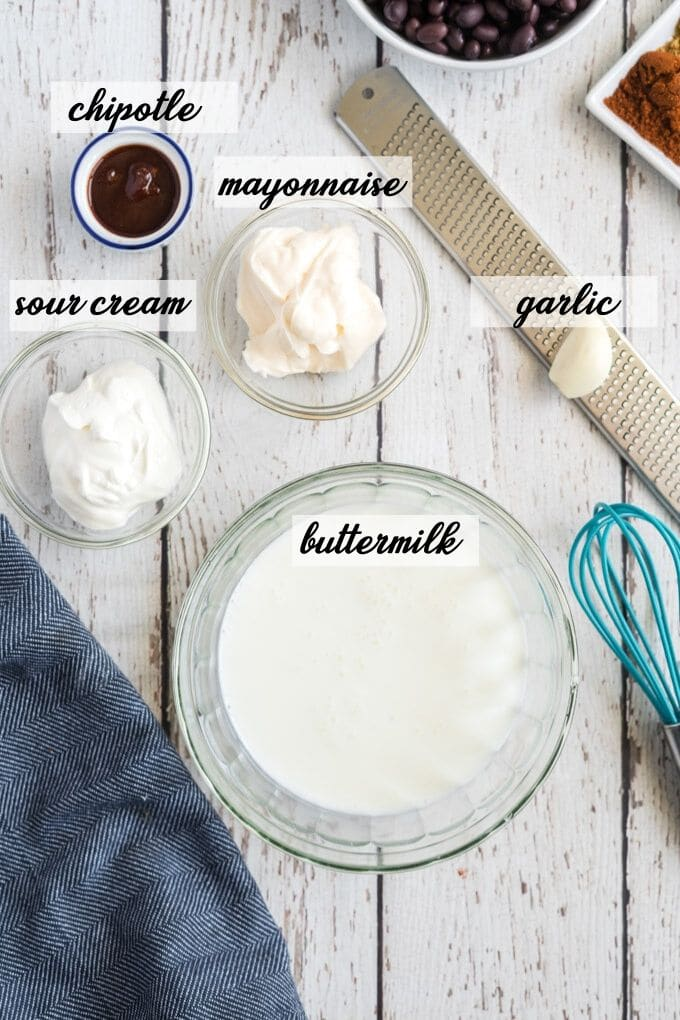 chipotle ranch dressing ingrediengts
