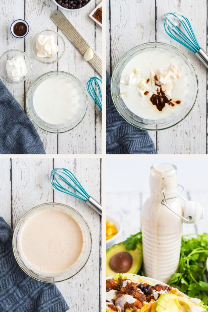 how to make chipotle ranch dressing