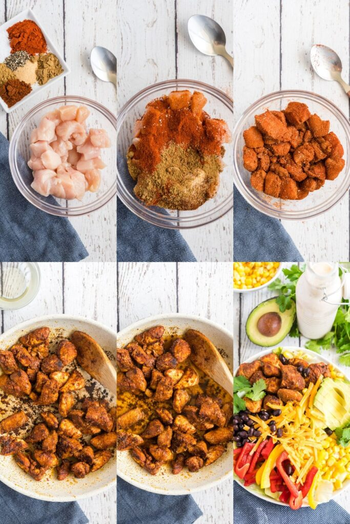 how to season and marinate the chicken in 6 pictures