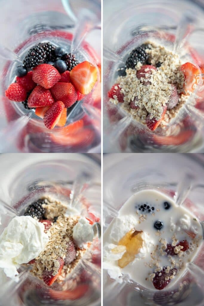 how to blend a smoothie