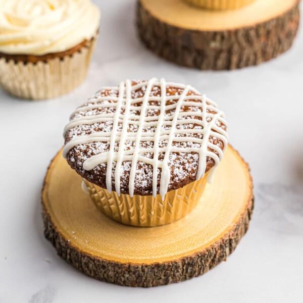 pumpkin muffins with white chocolate