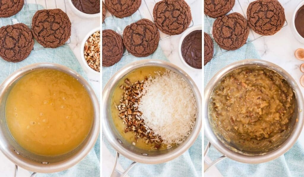 how to make german chocolate frosting