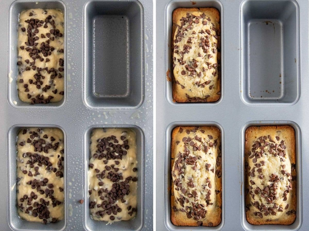 baking chocolate chip bread
