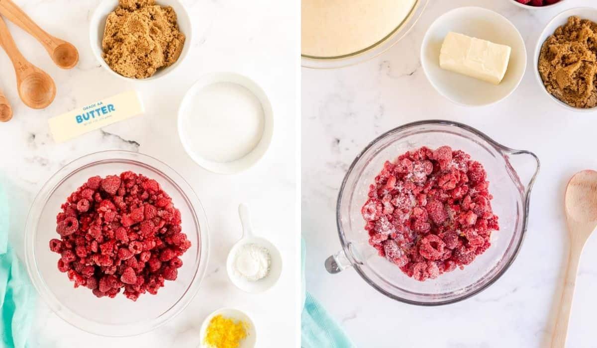 raspberry filling for sweet rolls